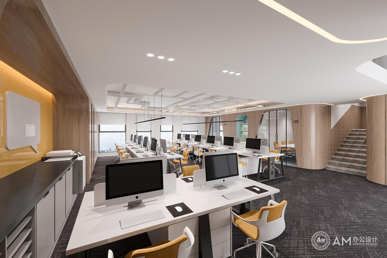 AM设计 | 建玲思雨LOFT开放办公区设计