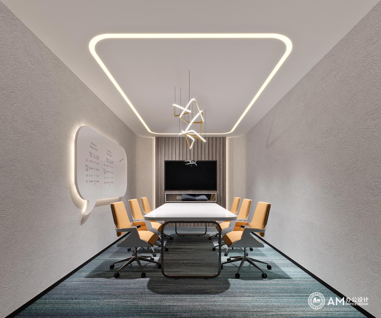 AM设计 | 建玲思雨LOFT办公洽谈室设计