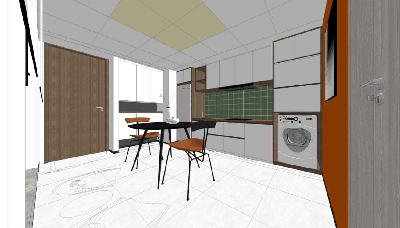 AM设计 | 建玲思雨LOFT办公公寓设计