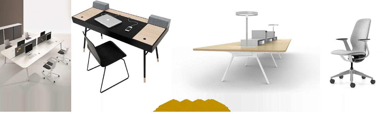 AM设计 | 建玲思雨LOFT办公设计家具