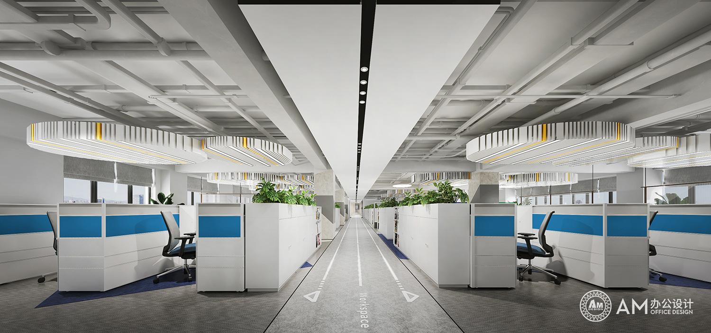 AM设计 | 人民邮电办公空间办公区设计