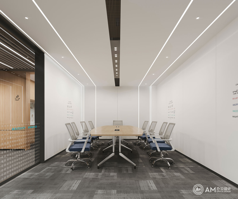 AM设计 | 人民邮电办公空间会议室设计