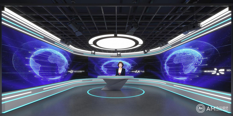 AM设计 | 人民邮电办公空间演播室设计