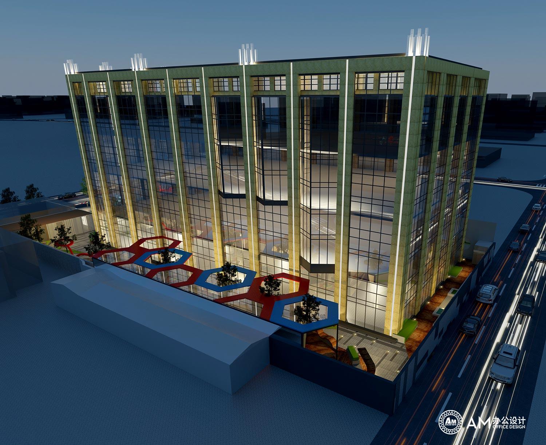 AM设计   润诚中心办公楼园区规划建筑设计