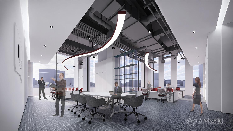 AM设计 | 山东金茂机械有限公司总部销售部办公室设计
