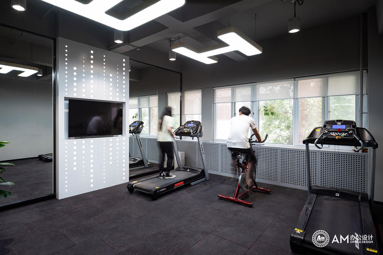 AM设计 | 北京太合音乐集团办公室健身房设计