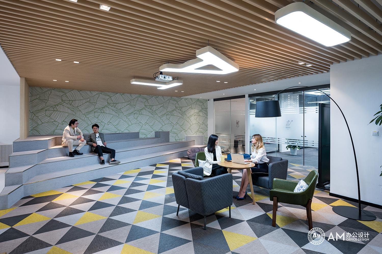 AM设计 | 北京太合音乐集团办公室开放式会议室设计